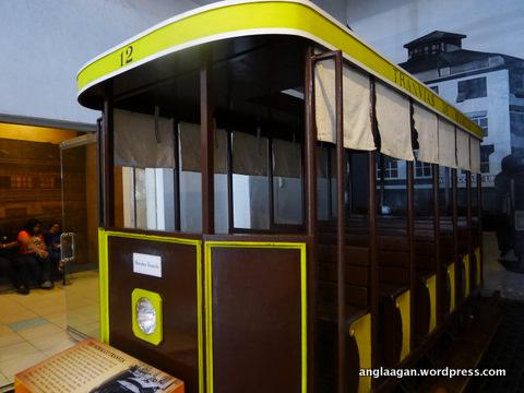 A replica of an old Manila tram