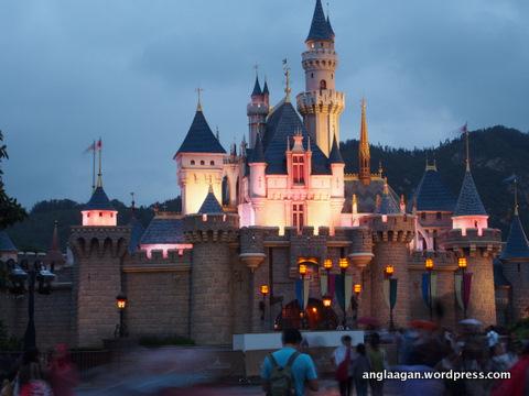 Sleeping Beauty's Castle, Disneyland HK