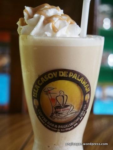Cashew Frappe at Isla Casoy De Palawan